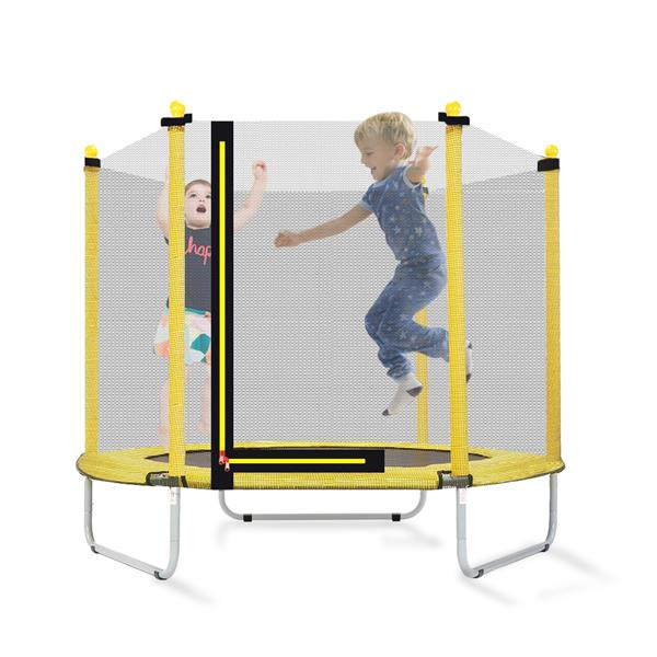 """[US-W]60"""" Round Outdoor Trampoline with Enclosure Netting"""