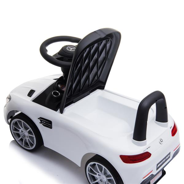 Small BENZ GT Car LZ-921 (Unpowered) White