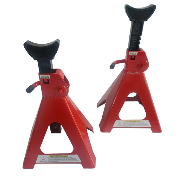 6 Tons Jack Stands Red Powder Coating