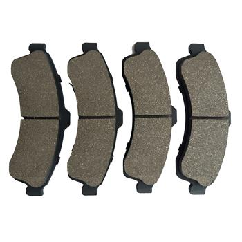 1 Set /4 Front 7759-d882 Ceramic Brake Pads