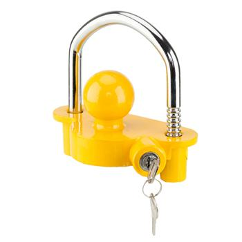 """Trailer Anti-Theft Device Universal Coupler Security Lock For 1-7/8"""", 2"""", 2-5/16"""""""