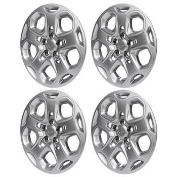 "轮毂盖 10 12 Ford 17"" Silver fits steel wheel 4只装"
