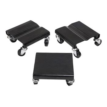 3pcs Snow Mobile Dolly Black