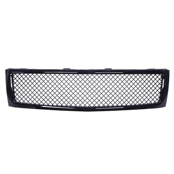 ABS Plastic Car Front Bumper Grille for 2007-2013 Chevy Silverado 1500 ABS Coating QH-CH-001 Black