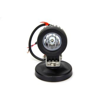 10W LED Work Light Spot Offroad Driving Fog Lamp Motorcycle Boat 4X4 ATV Black