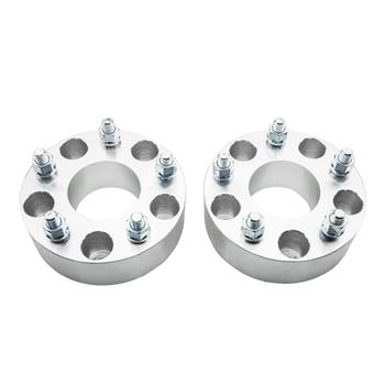 2pcs Professional Hub Centric Wheel Adapters for Jeep Wrangler 2007-2016 Jeep Commander 2006-2010 Jeep Grand Cherokee 1999-2010 Silver