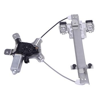 Rear Right Power Window Regulator with Motor for 07-12 Cadillac GMC Chevrolet