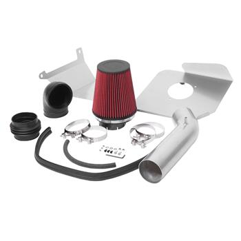 """3.5"""" Intake Kit Is Suitable For GMC/ Chevrolet/Cadillac 2007-2008 V8 4.8l / 5.3l / 6.0l / 6.2l Red"""