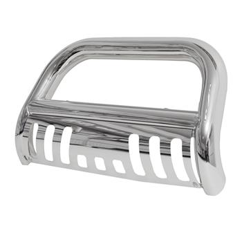 Stainless Steel Front Bumper Bull Bar Grille Guard for 05-12 Nissan Pathfinder Silver