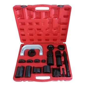21pcs Ball Joint Auto Repair Tool Service Remover Installing Master Adapter Black