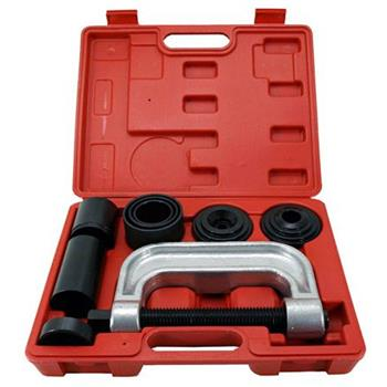4 in 1 Ball Joint Service Auto Tool Kit 2WD & 4WD Car Repair Installer Remover Black