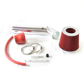 """3"""" Intake Pipe with Air Filter for Honda Civic EX/HX 1996-1998 1.6L Red"""