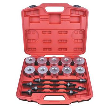 24pcs Universal Press And Pull Sleeve Kit Bush Bearing Removal Insertion Tool Set