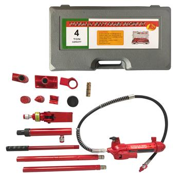 4 Ton Portable Power Hydraulic Jack Red