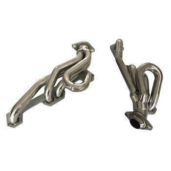"Exhaust Manifold 2.00"" Outlet 94-04 Headers for Dodge Dakota,Ram 1500, 2500, 3500 Pickup, 5.2, 5.9L, Pair AGS0085"