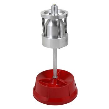 Portable Hubs Wheel Balancer W/ Bubble Level Heavy Duty Rim Tire Cars Truck Red