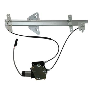 Replacement Window Regulator with Front Right Driver Side for Dodge Dakota/Durango 98-04 Silver