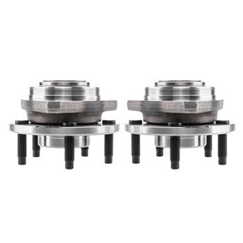 Pair Wheel Hub Bearing Assemblies for Chevrolet Malibu EXCEPT ABS 2004-2007 Pontiac G6 EXCEPT ABS 2005-2007