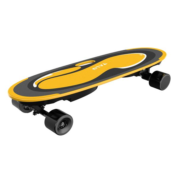 GRUNDIG TALU Electric skateboard Self Balancing, 4-wheel Skateboard with voice broadcast and music Function, 9 1 Layers of Solid Maple Leaf Board, Maximum Speed 15km / h,for Adults and Teenagers