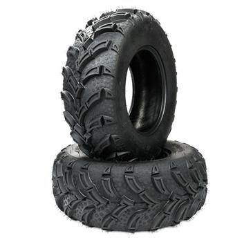"TWO TIRE SET ATV TIRES 6 PLY 25"" 25x8x12 Factory Direct with warranty"