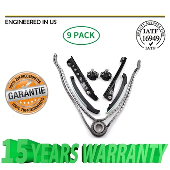 时规链条套件For Timing Chain Kit Fit 04-10 Ford F150 F250 Lincoln Navigator TRITON V8 5.4 24V