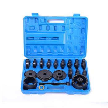 (23) Remove & Replace Front Wheel Bearing Removal Adapter Puller Pulley Tool Kit