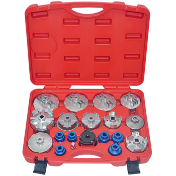 Oil Filter Removal Socket Wrench Set 19-Piece Cup Type (NEW UPDATED KIT) CT4867