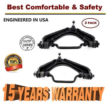 2002-2005 Ford Explorer Mercury Mountaineer 2 Front Upper Control Arm Ball joint - 15 YR WARRANTY