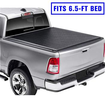 Roll Up Tonneau Cover For 2009-2018 Dodge Ram 1500 2010-2018 2500/3500 6.5FT Bed