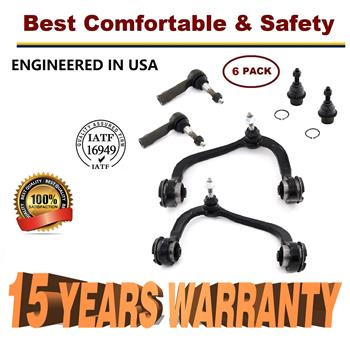 2005-2008 Ford F-150 Lincoln Mark LT - Front Upper Control arm Ball Joint Tierod - 15 YR WARRANTY
