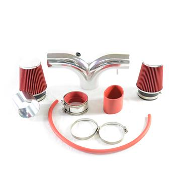 Intake Pipe with Air Filter for Dodge Ram 1500 2003-2008 V8 5.7L Red
