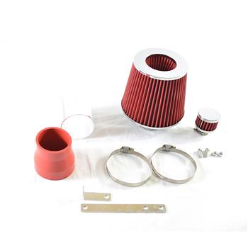 """2.75"""" Short Intake Pipe for Volkswagen Jetta/Golf 1999-2005 1.8L/2.0L Red"""