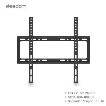"LEADZM 26-55"" Wall Mount Bracket TV Mount TMW4040 with Sprit Bubble"