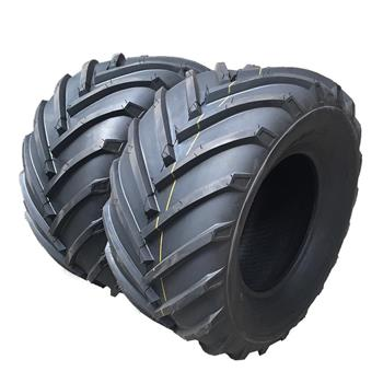 Both Max load:1710Lbs Lawn Mower Turf Tires 24x12.00-12 4PR Tubeless