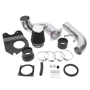 """The 3.5"""" Intake Kit Is Available In The Ford Mustang 1996-2004 V8 4.6l Black"""