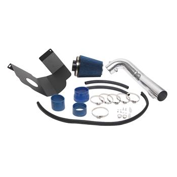 """3.5"""" Intake Pipe With Air Filter for GMC/Chevrolet Suburban 1500 2012-2014 V8 5.3L/6.2L Blue"""