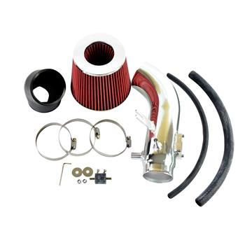Intake Pipe with Air Filter for Honda Civic Si 2006-2011 2.0L Red