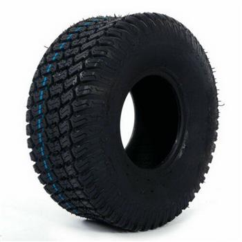 Lawn Mower Tractor tire 15x6.00-6 millionparts P332 4 Ply Color: Black