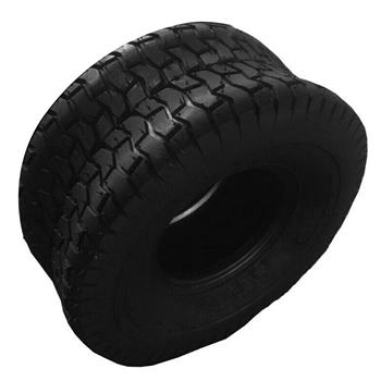 Turf Tires Lawn Mower Tires Tubeless Max Loads 295lbs 13x5.00-6 4PLY [Set of 1]