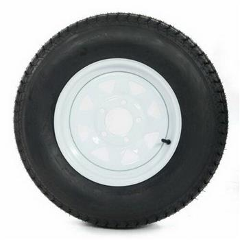 set of (1) Bias Trailer Tire Capacity: 1660 Lbs Center Bore : 3.19""