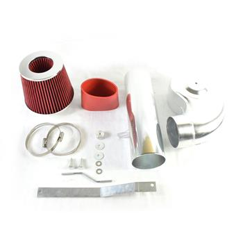 Intake Pipe with Air Filter for Chevrolet/GMC 1988-1995 V8/V6 4.3L/5.0L/5.7L Red