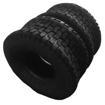 2x Front,Rear Lawn Mower Golf Cart Turf Tires Tubeless 18x8.50-8 P512