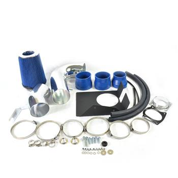 """4"""" Intake Pipe with Air Filter for Ford F150/Expedition 1997-2003 V8 4.6/5.4L Blue"""