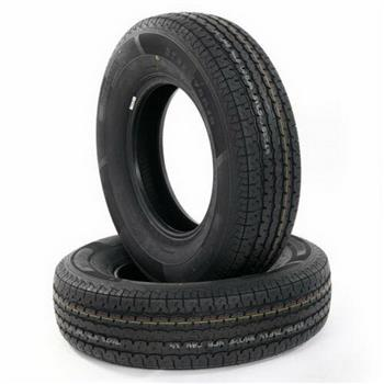 Two ST225/75R15 Oshion PSI:65 8 Ply D Load/ L Speed Radial Trailer Tires