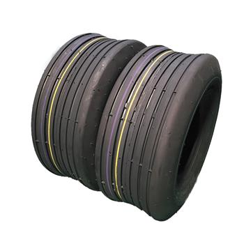 Set of 2 13x5.00-6 Rib Tires 4 ply Lawn Mower Garden Tractor 13-5.00-6 13x500x6