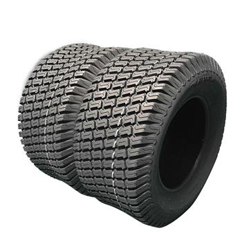 Two * 13X6.50-6 Turf Tires Lawn Tractor 4PR P332 Rim width:5.0in(127mm)