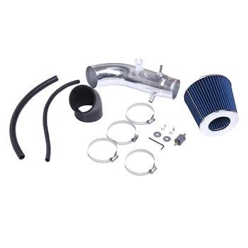 Intake Pipe With Air Filter For Honda Civic Si 2006-2011 2.0L Blue