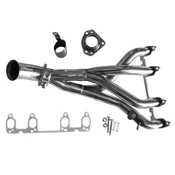 STAINLESS RACING HEADER/EXHAUST MANIFOLD FOR 85-99 JETTA/GOLF/GTI 1.8/2.0 8v
