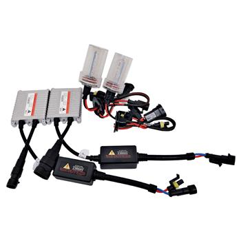 55W AC W/O CANBUS H4 9003 Hi/Lo Beams 8000K HID Xenon Light Kit w/ Slim Ballasts