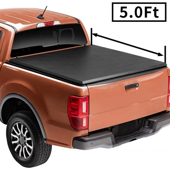 皮卡软三折盖板For 2019+Ford Ranger 5'SOFT  TRI-FOLD